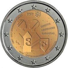 monedas de 2€ cc Portugal 2017