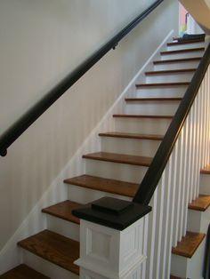 Staircase idea... Minus the black