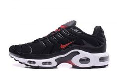 pretty nice 24545 02abb Nike Air Max Plus Tn Black Gym Red Red White Bred 604133 096 Mens Shoes  Chaussures