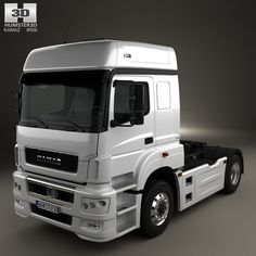 KamAZ 5490 T5 Tractor Truck 2015 3d model from Humster3D.com.
