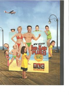 Jon and Kate Plus Eight, Full Page Promo Ad, 8
