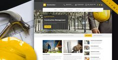 Construction - WP Theme For Construction Business (Business)
