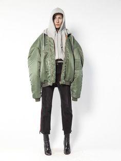 Vetements oversized bomber jacket - $2,625.00