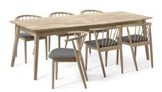 Ekerö Matgrupp med 6 stolar Sixten   Mio Dining Table, Interior, Kitchen, House, Inspiration, Furniture, Design, Home Decor, Style