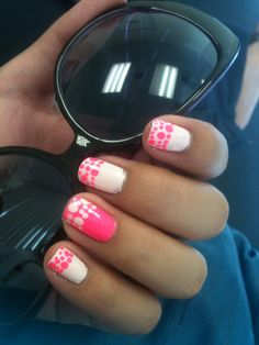 French Polka Dots. 8/16/13 (Sinful Colors in Easy Going and 24/7)