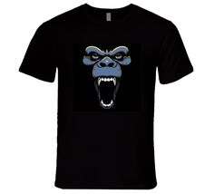 Angry Gorilla Face T Shirt this design is printed on a quality cotton t shirt using the latest DTG (Direct to Garment) printing technology. Are You The One, Shirt Style, Face, Cotton, Mens Tops, T Shirt, Animals, Fashion, Supreme T Shirt