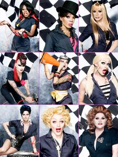 》 drag race season 1... i love this set, makes me want to do one- but with girls who were born with vaginas. lol