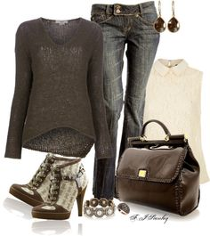 """""""Patent chocolate"""" by fiona-stanley ❤ liked on Polyvore"""