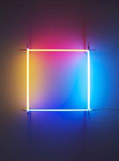 Christian Herdeg, Lichtkünstler, lebt und arbeitet in Zürich, Schweiz