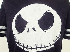 Retro American Pop Culture: Nightmare Before Christmas Jack T-Shirt L