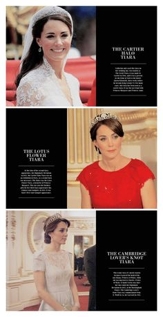 Catherine, Duchess of Cambridge + tiaras
