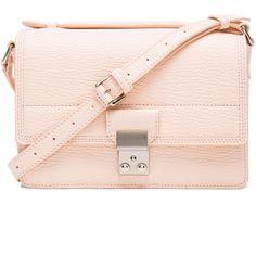 3.1 phillip lim Mini Pashli Messenger (25,940 PHP) ❤ liked on Polyvore featuring bags, messenger bags, purses, accessories, handbags, bolsos, mini bag, mini crossbody bag, pink duffle bag and handle bag