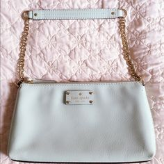 Kate spade small should bag Only wore once, looks new. kate spade Bags