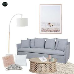 A little moodboard I put together for a bayside apartment freshen up. I was given a budget & told to choose whatever I like  winning brief!! Homewares Art cushions rug coffee table all in store. Sofa & lamp we can order #interiors #interior #moodboard #mintinteriordesign #mintinteriorsproject #mintinteriors #livingroom #apartmentdecor #interiordecor #interiorstyling - Architecture and Home Decor - Bedroom - Bathroom - Kitchen And Living Room Interior Design Decorating Ideas - #architecture…