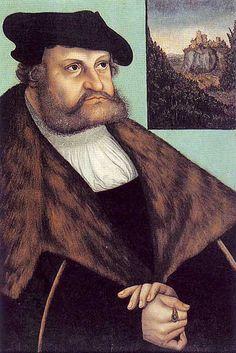 Johann Friedrich von Sachsen, 1532, Lucas Cranach the Elder