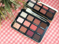 Too Faced Peaches & Cream Collection   Just Peachy Mattes Eyeshadow Palette: Review and Swatches