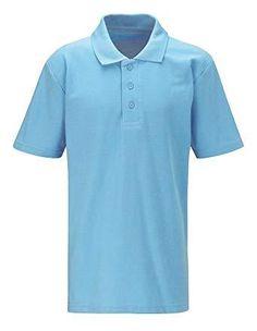 Kids Boys Girls Polo Shirts Ages 3-16 School Uniform P.E Cotton All Colours
