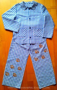 Carolina Creates:boy pyjama size 122