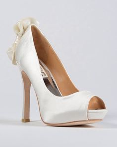 Cute bow high heels..