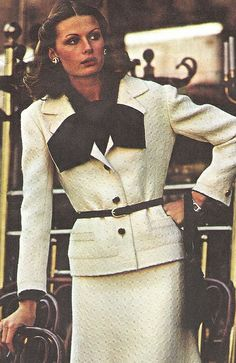 Givenchy  1976 by Classic Style of Fashion (Third), via Flickr