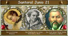 Vidas Santas: Santoral Junio 21