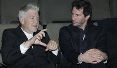 David Lynch and Keanu Reeves