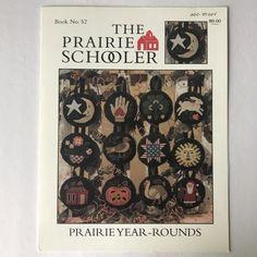 Prairie Schooler Year Rounds Cross Stitch Pattern Chart No 52 OOP HTF | eBay