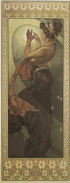 ART & ARTISTS: Alphonse Mucha - part 8
