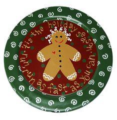 Gingerbread Plate project from DecoArt