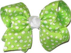 KB-375S Toddler Apple Green and White Dot, $5.95