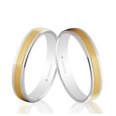 Alianzas de boda 2 Oro 1ª Ley 18Kts. 4mm Argyor ref. 5240497 18K