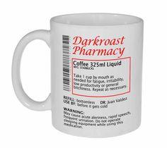 Coffee Prescription Funny Coffee or Tea Mug
