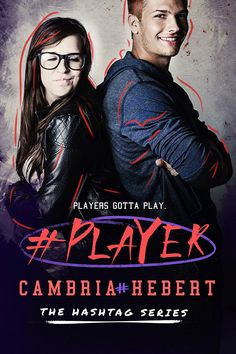 Cover Reveal:: #Player by Cambria Hebert