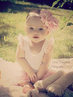 flower headband for babies or girls!