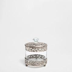 AGED-EFFECT DECORATIVE JAR - Accessories - Bathroom | Zara Home Canada