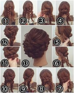 There are a few short steps to the perfect braid bun, but they are all easy and a snap...