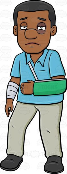 A black man sustaining an arm injury #ache #adult #anguish #arm #bandage #beat #beatup #beaten #beatenup #black #bloated #bruise #bruised #cast #cripple #damage #damaged #detriment #distress #expanded #firstaid #fracture #grownup #harm #hurt #impairment #individual #inflamed #inflammation #injure #injured #injury #limp #male #man #misadventure #mischance #mishap #pain #painfulness #person #puffed #puffy #redness #scathe #single #sling #strain #suffering #swollen #trauma #unhealthy #weakened…