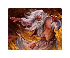 Beautiful Awesome Fantasy Mouse Pad Wizard #6