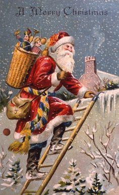 19 Vintage Christmas Cards That Make Us Feel All Nostalgic  - HouseBeautiful.com