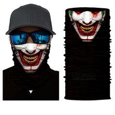 Cat Warrior Neck Warmer Gaiter For Men Women Headband Face Mask Bandana Head Wrap Scarf Headwear Winter Balaclava For Ski Running Motorcycle