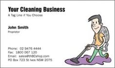 Cleaning Business Names And Business Cards