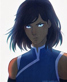 """By nymre: joining the korra bob hair party /o/ I LOVE IT A LOT. it's so cute gahhh """" Ugh I can't wait. And I still haven't even seen season 3 yet. """""""