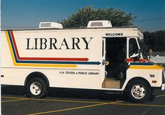 BOOKMOBILE! Ahhh, the days before electronic books...lol