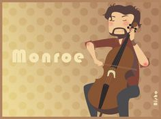 Grimm - Monroe - Cello time! by ~Bisho-s on deviantART