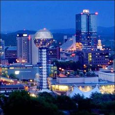 Knoxville,Tennessee... We practically LIVE in Knoxville.. especially WEST Knox!! Love this town.