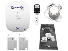 Kit de Alarme Guardião Lite c/ Controle Remoto - ON Eletrônicos com as melhores condições você encontra no Magazine Krvariedades. Confira!