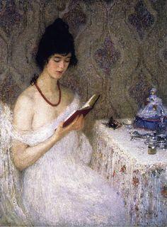 Coral Helen M. Turner (EUA, 1858-1958) óleo sobre tela,  108 x 86 cm Speed Museum, Louisville, Kentucky