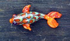 My koi bead from Kristan Horne http://pinterest.com/illumine/