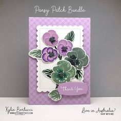 Potpourri, Alcohol Ink Crafts, Stamping Up Cards, Flower Cards, Greeting Cards Handmade, Pansies, Homemade Cards, Making Ideas, Cardmaking