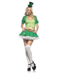 Pin for Later: 51 Halloween Costumes That Should Never Be Sexy Lucky Charms Leprachaun Nothing like sexing up a kids' cereal cartoon.